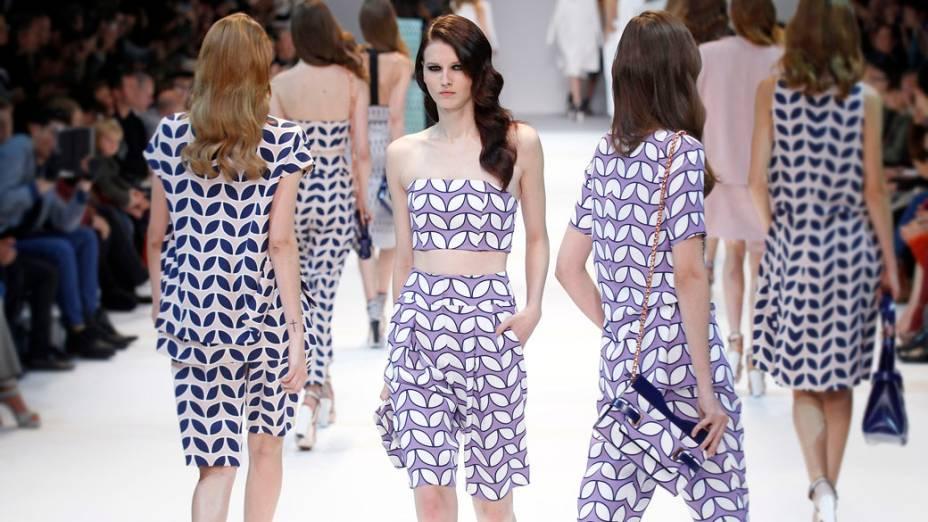 Coleção Primavera-Verão de Marcel Marongiu na Semana de Moda de Paris