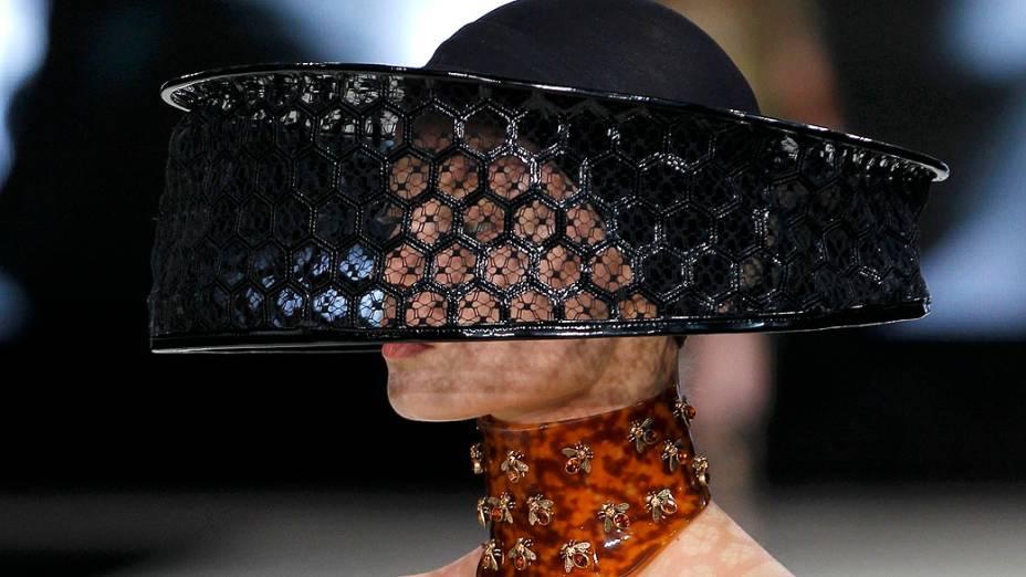 Desfile de Sarah Burton na Semana de Moda de Paris, na França