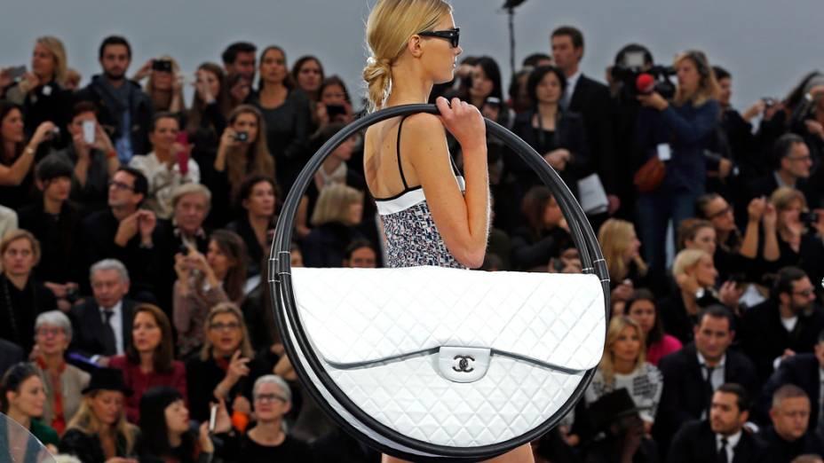 Criação de Karl Lagerfeld para a grife Chanel