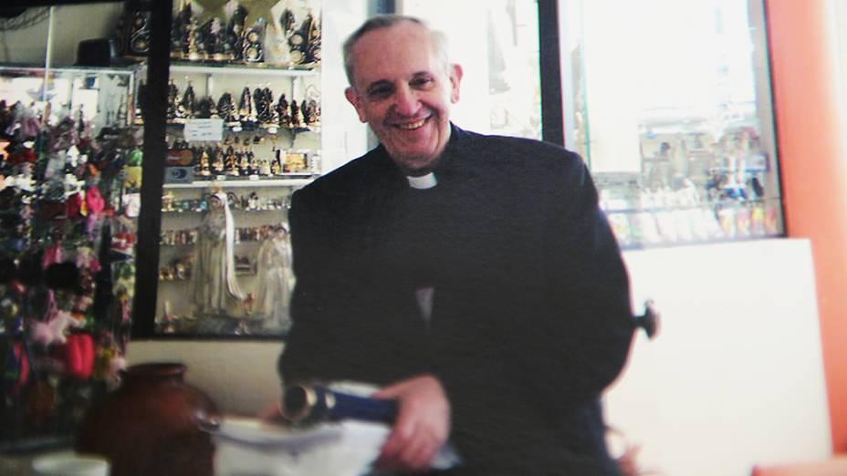 Papa Francisco em visita a Aparecida (SP) em 2007