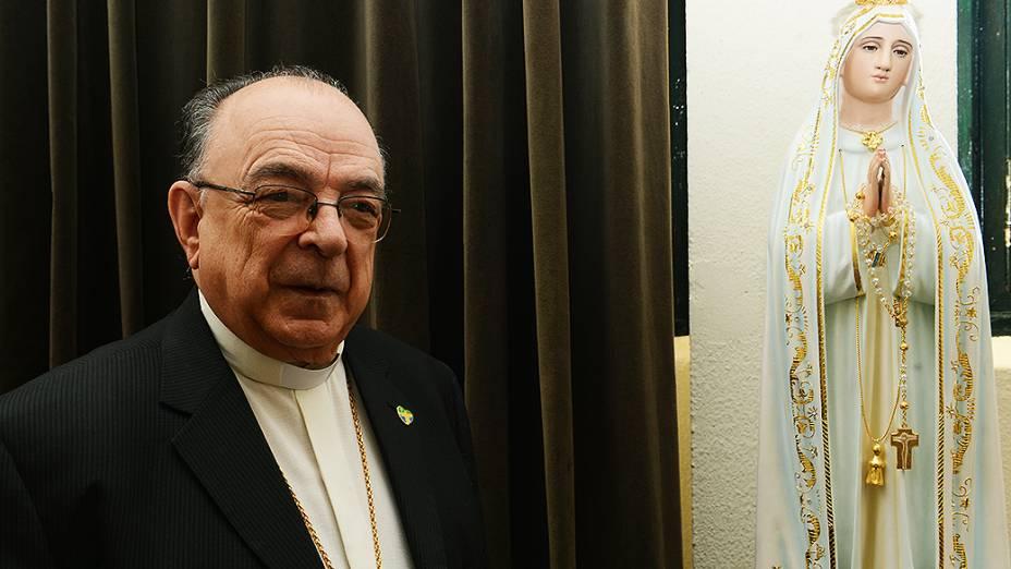 Arcebispo de Aparecida Dom Raymundo Damasceno no Seminário de Bom Jesus