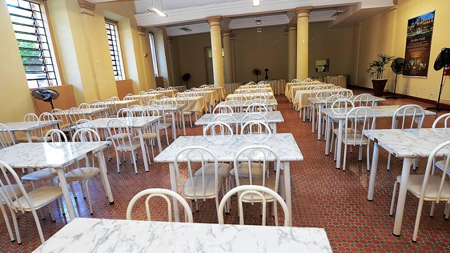 Seminário de Bom Jesus em Aparecida onde o Papa Francisco almoçará no dia 24 de julho