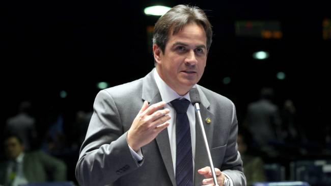 O senador Ciro Nogueira em Brasília