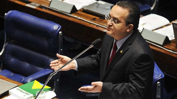 Senador Pedro Taques (PDT-MT), relator do processo contra o senador Demóstenes Torres