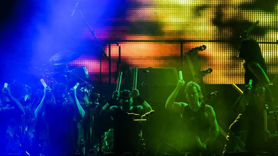 Apresentação do Sepultura durante o quarto dia do Rock in Rio 2013
