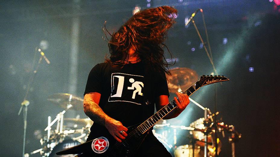 Show da banda Sepultura e Zé Ramalho, no Rock in Rio 2013