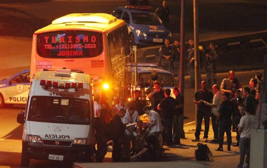Sequestro de ônibus no Rio durou pouco mais de uma hora