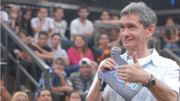 O apresentador Serginho Groisman