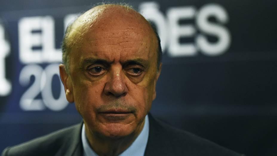 Candidato a senador pelo PSDB, José Serra