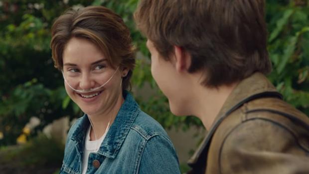 Shailene Woodley como Hazel, em A Culpa É das Estrelas