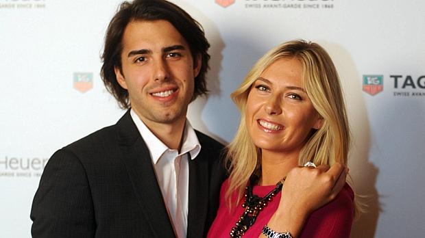 Sasha Vujacic e Maria Sharapova: relacionamento de três anos chegou ao fim