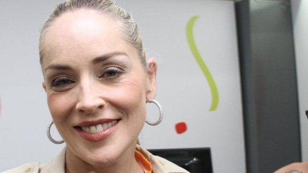 A atriz americana Sharon Stone, na Bahia