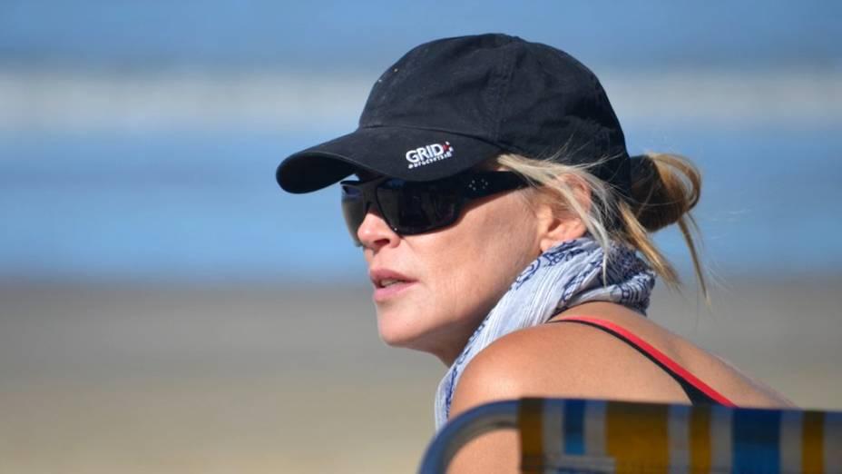Sharon Stone no Balneário de Camboriú, em Florianópolis