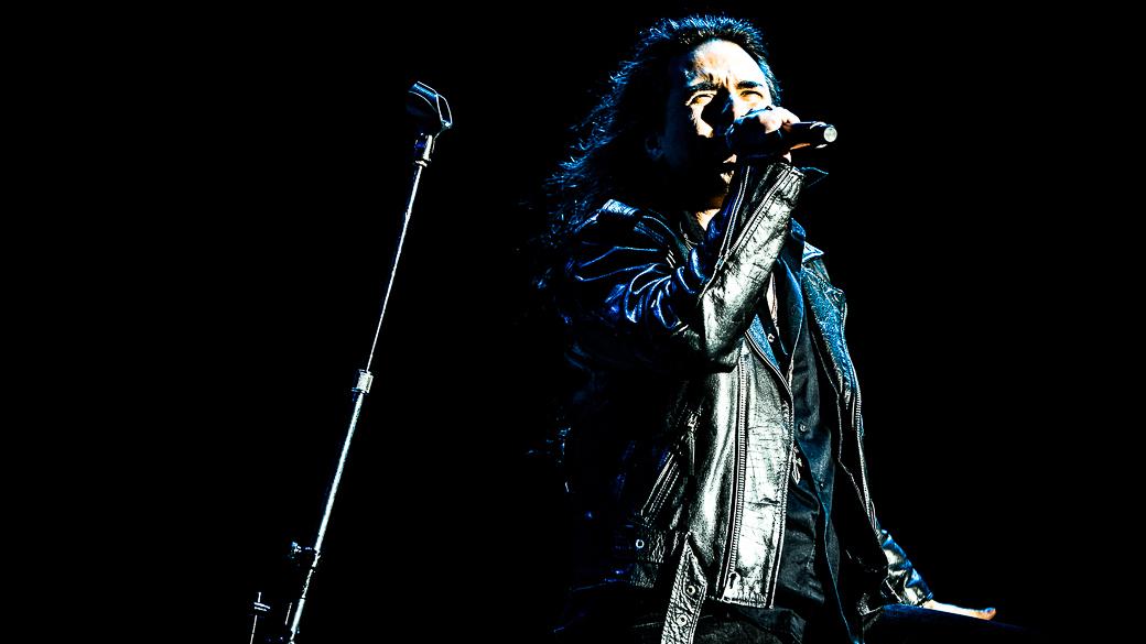 A banda Viper abriu a noite de shows na Arena Anhembi