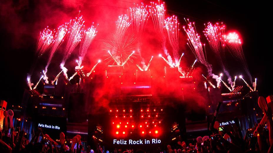 Show de Frejat no quinto dia de Rock in Rio 2013