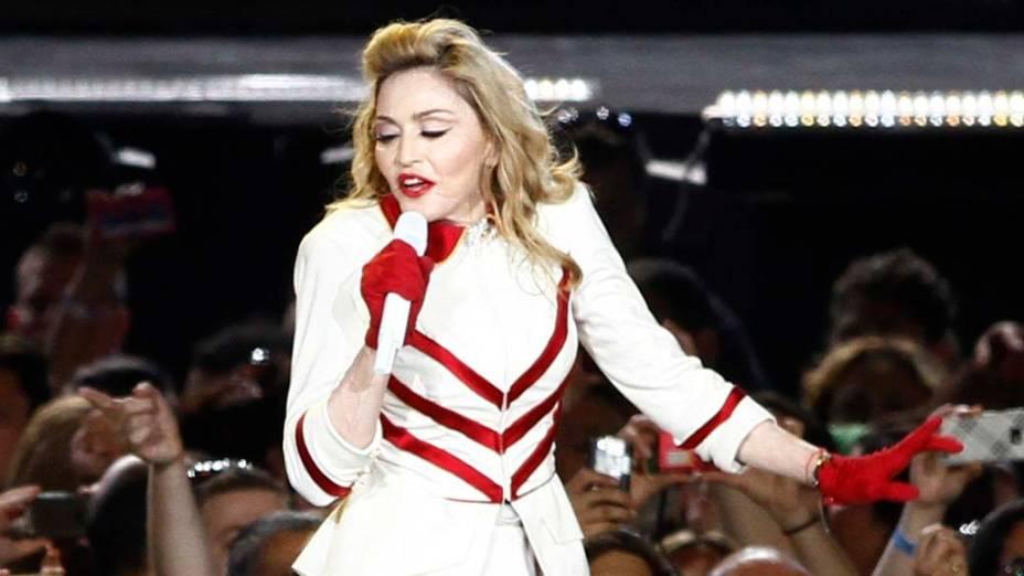 Madonna abre a sua turnê mundial com show em Tel Aviv, Israel