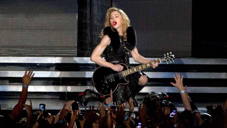 Show da cantora Madonna, em Tel Aviv, Israel