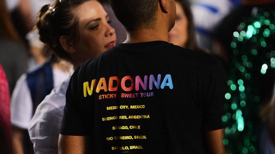 O primeiro show de Madonna em São Paulo reuniu 58 mil fãs no Estádio do Morumbi na noite desta terça-feira (4)