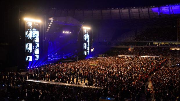 Show de Paul McCartney, em Belo Horizonte