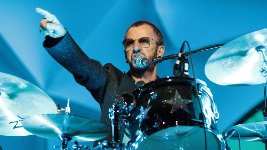 Ex-beatles Ringo Starr se apresenta em São Paulo - 12/11/11