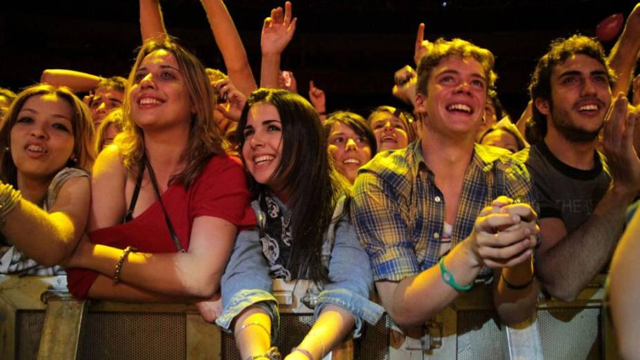 Público acompanha apresentação do cantor Ringo Starr, em São Paulo - 12/11/11<br>  <br>