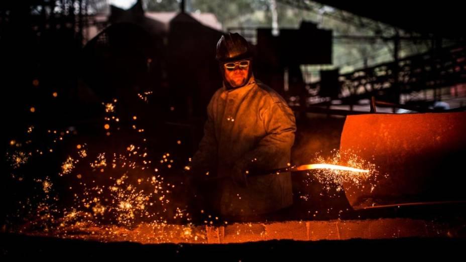 Sete Lagoas possui o maior polo de siderurgia independente de Minas Gerais