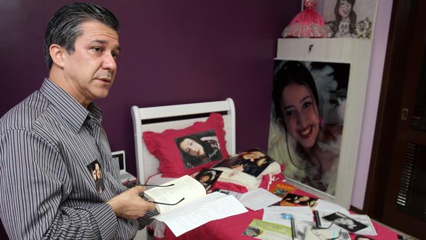 Adherbal Alves Ferreira, pai de Jennefer, que morreu no incêndio da Boate Kiss