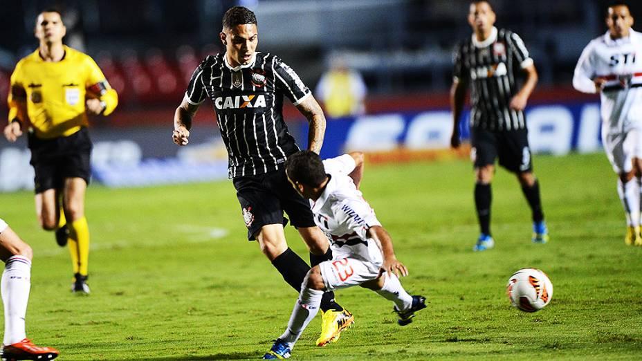 Nesta quarta-feira, no estádio do Morumbi, São Paulo e Corinthians disputam a partida de ida da final da Recopa Sul-Americana