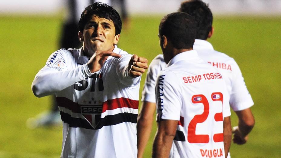 Aloísio durante o jogo entre São Paulo e Atlético-MG pela Libertadores