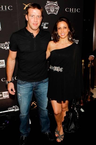 Stephan Bonnar com a mulher, Andrea