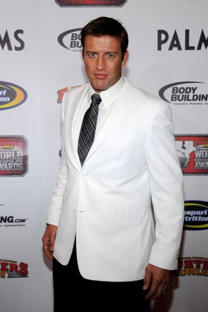 Stephan Bonnar em festa de premiação de MMA em 2011