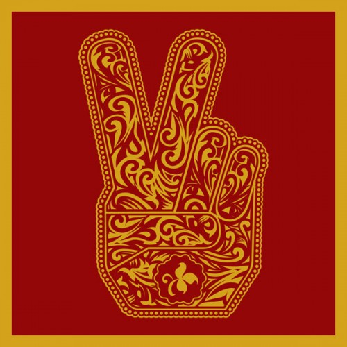 Capa do disco do Stone Temple Pilots que leva o nome da banda, lançado em 2010, que tem capa feita por Shepard Fairey