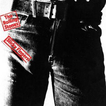 Capa do álbum Sticky Fingers, dos Rolling Stones, feita por Andy Warhol