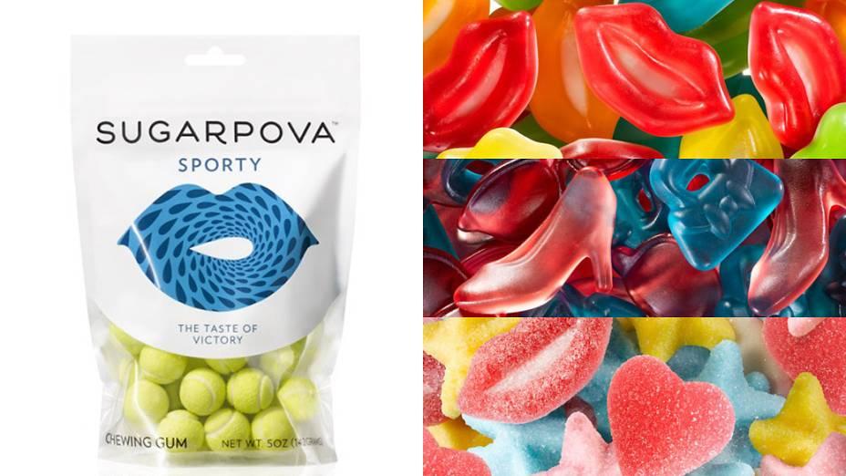 Linha de doces Sugarpova da tenista russa Maria Sharapova