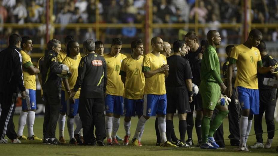 O cancelamento do jogo entre Brasil e Argentina no Superclássico das Américas, em Resistência, na noite desta quarta-feira