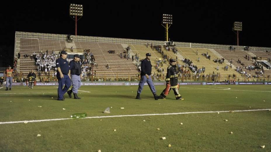 Jogo entre Brasil e Argentina no Superclássico das Américas, em Resistência, foi cancelado