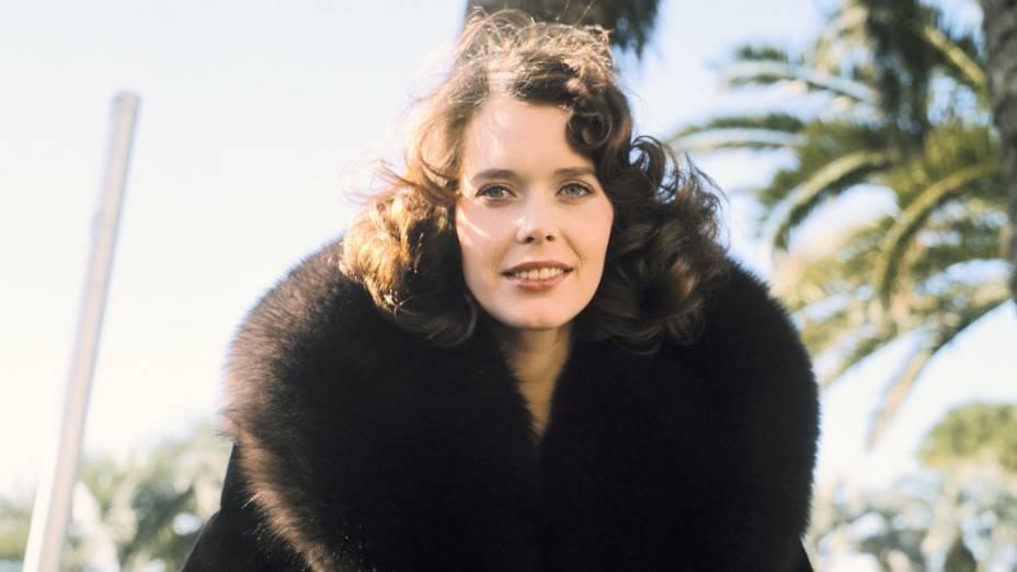 Atriz holandesa Sylvia Kristel, em 1976