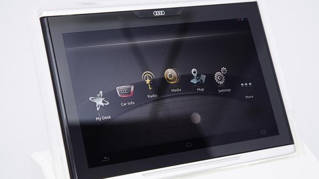 Em parceria com Google, Audi lança tablet com Android para usar no carro
