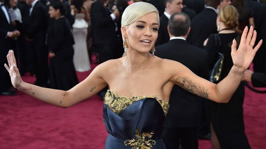 Rita Ora no Oscar 2015