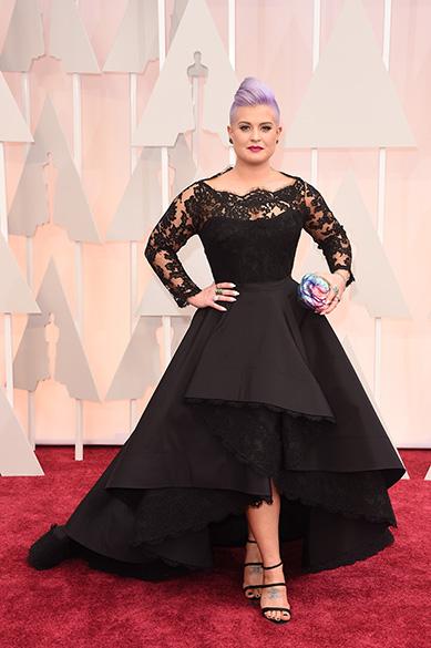 Kelly Osbourne na 87ª cerimônia de entrega do Oscar no Hollywood & Highland Center, na Califórinia