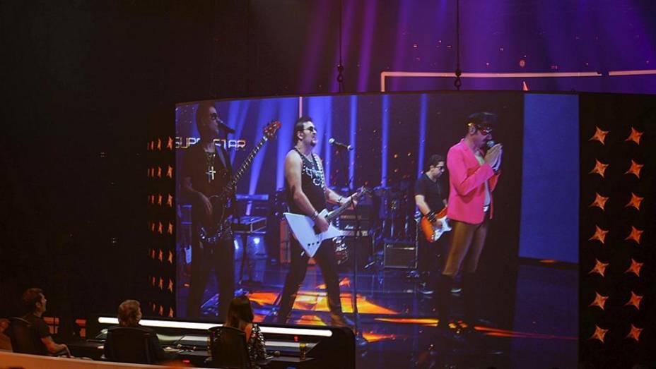 Tarcísio Meiras Band se apresenta na primeira fase do SuperStar
