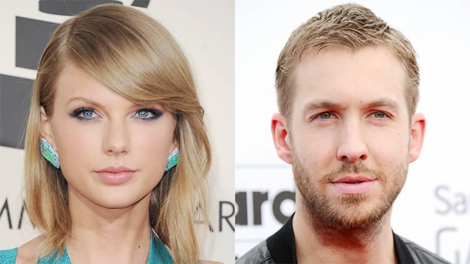 Taylor Swift e o Calvin Harris