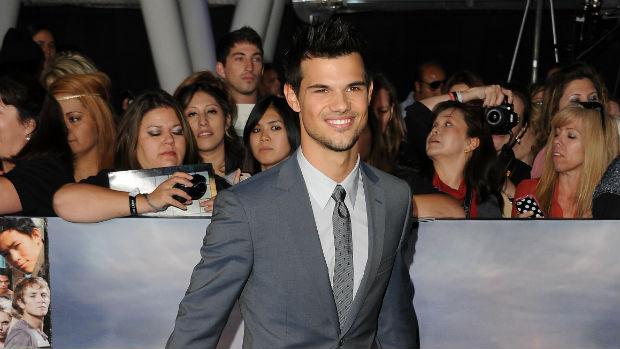 Taylor Lautner, que interpreta Jacob Black em Amanhecer - Parte 2