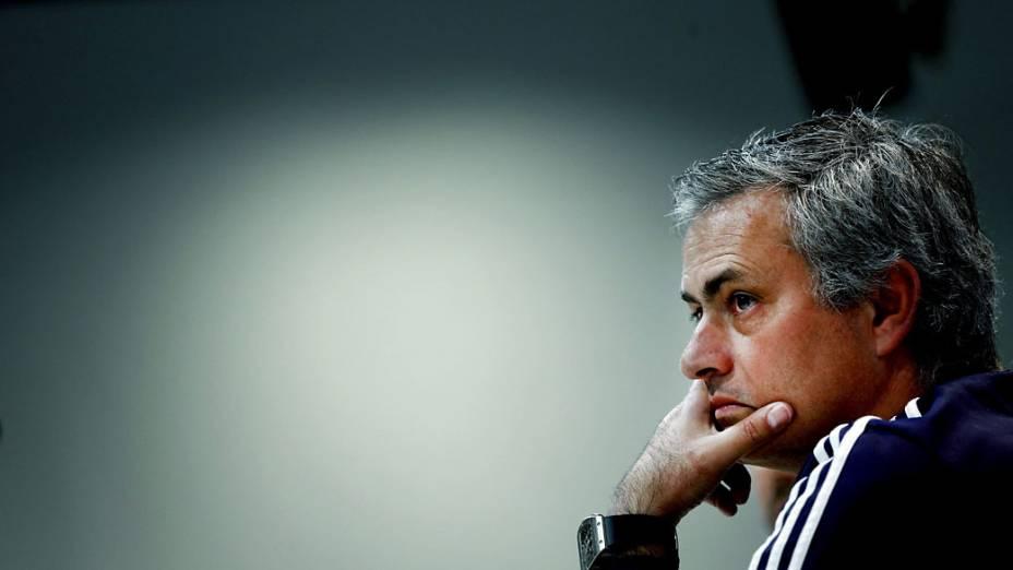 José Mourinho, técnico do Real Madrid