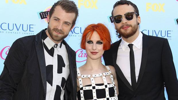Banda Paramore no Teen Choice Awards 2013