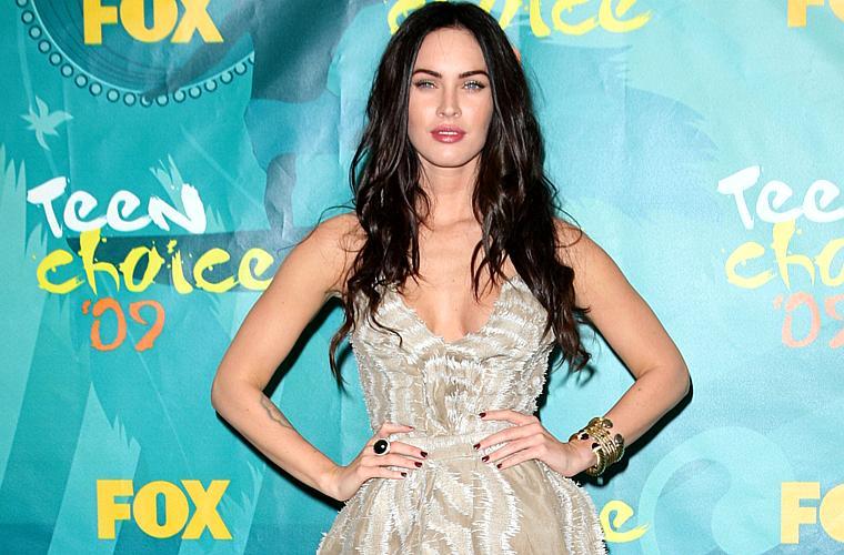 A atriz Megan Fox