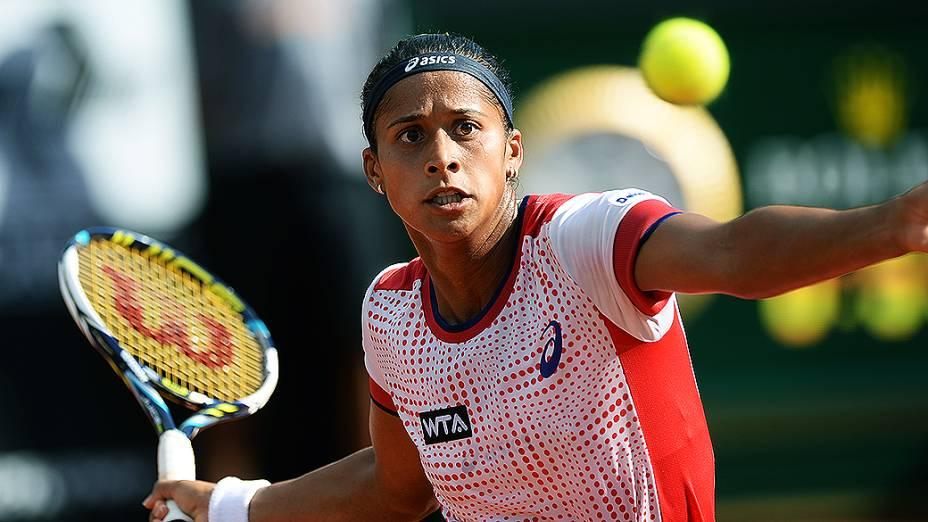 Teliana Pereira durante o Open Rio 2014