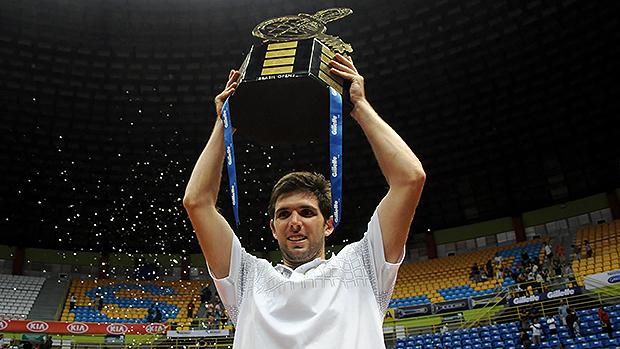 O argentino Federico Delbonis campeão do Brasil Open 2014