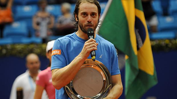 O italiano Paolo Lorenzi vice-campeão do Brasil Open 2014