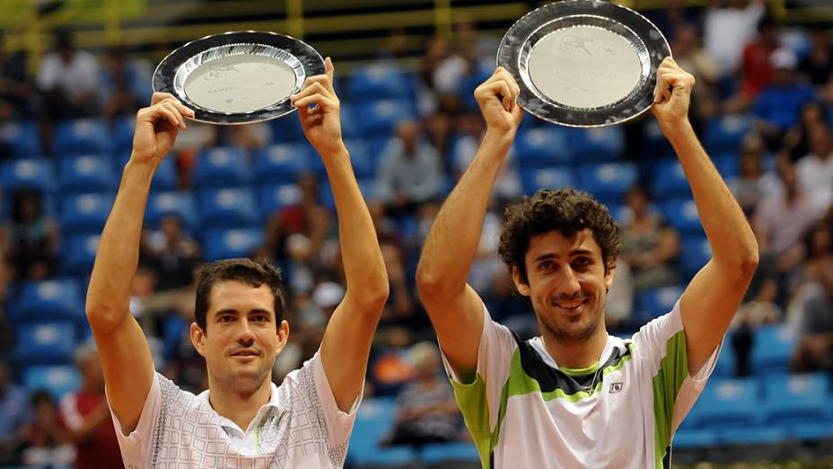 Garcia Lopez e Philipp Oswald conquistam título de duplas no Brasil Open 2014